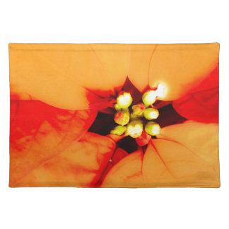 glow plant theme placemat