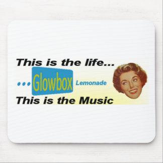 Glowbox Lemonade Gear Mouse Pad