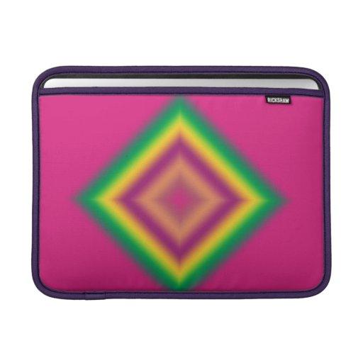 Glowing Abstract Diamond Mac Book Air Sleeve MacBook Sleeve
