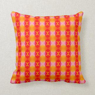 glowing argyle pattern pillows