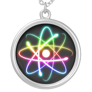 Glowing Atom Necklace