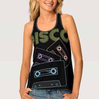 Glowing Audio Cassette Tapes Singlet