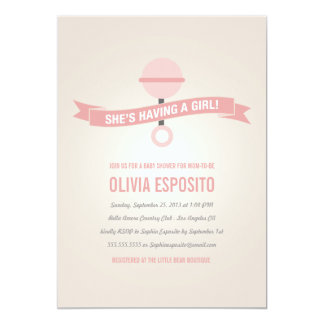 GLOWING | BABY SHOWER INVITATIONS
