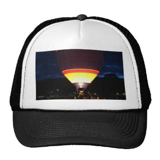 Glowing balloon, ufo cap
