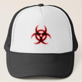 Glowing Biohazard Trucker Hat