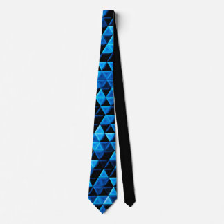 Glowing Blue Tiles Tie