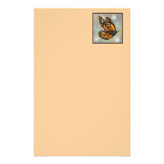 """Glowing Butterfly"" Stationery"