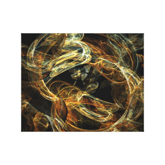 Glowing canvas stretched canvas prints