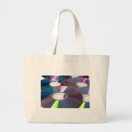 Glowing CD Tote Bags