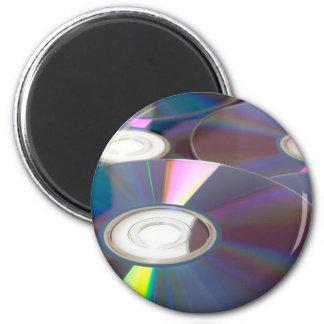 Glowing CD Fridge Magnet