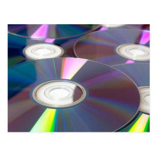 Glowing CD Postcard