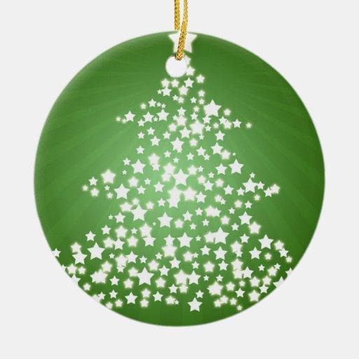 Glowing Christmas Tree Ornaments