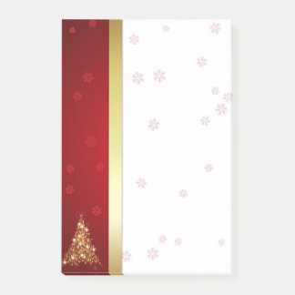 Glowing Christmas Tree - Post-it® Notes