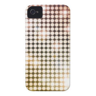 Glowing Circles Abstract Blackberry Case (golds)