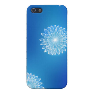 Glowing Crystal Flowers iPhone 5/5S Covers