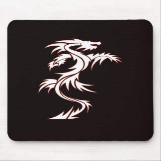Glowing dragon mouse pads