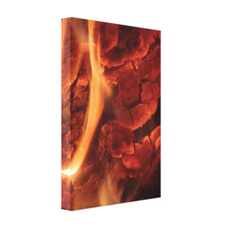 Glowing Embers Canvas Print