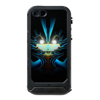 Glowing Eyes Blue Alien Incipio ATLAS ID™ iPhone 5 Case