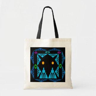 Glowing Eyes Budget Tote Bag