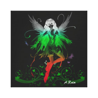 Glowing Fairy 1 Canvas Print