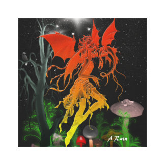 Glowing Fairy 2 Canvas Print