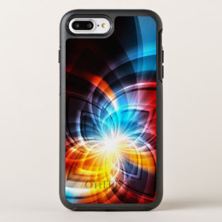 Glowing Fractal Pattern OtterBox Symmetry iPhone 8 Plus/7 Plus Case
