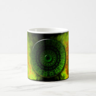 Glowing Green Luminosity 11 oz Classic Mug