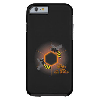 Glowing honeycomb iPhone 6 case Tough iPhone 6 Case