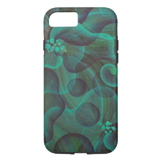 Glowing Jellyfish Abstract Art iPhone 7 Case