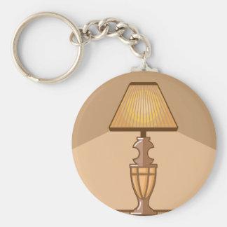 Glowing Lamp Key Ring