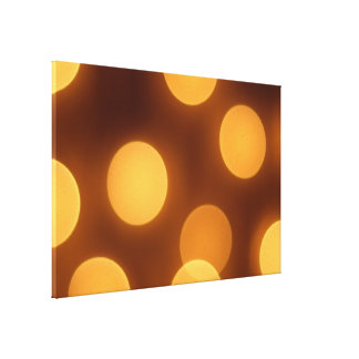 Glowing Light Patterns Gallery Wrap Canvas