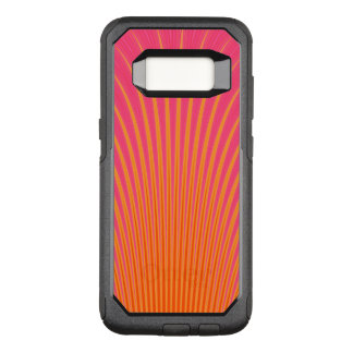 Glowing Lines Yellow Pink Lavender OtterBox Commuter Samsung Galaxy S8 Case