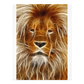 Glowing Lion Portrait Flyer