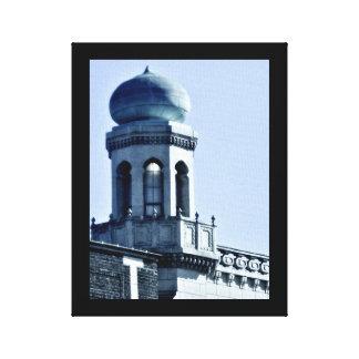 Glowing Minaret Canvas Print