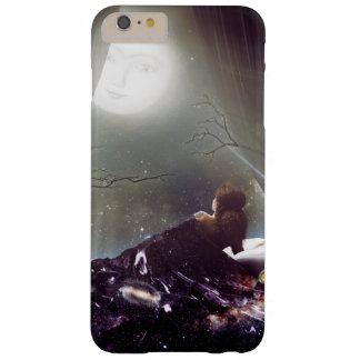 Glowing moon in the night sky spiritual cosmic ill barely there iPhone 6 plus case