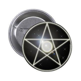 Glowing Pentagram 1 Button