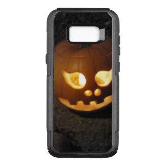Glowing Pumpkin OtterBox Commuter Samsung Galaxy S8+ Case