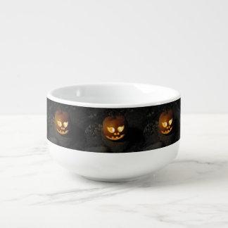 Glowing Pumpkin Soup Mug