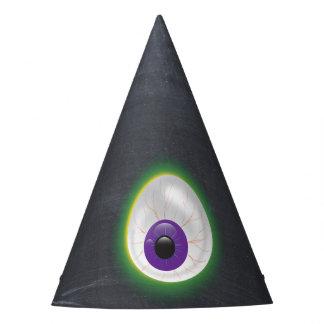 Glowing Purple Eyeball Third Eye Halloween Adult Party Hat