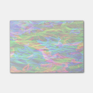 Glowing Rainbow Abstract Post-it Notes