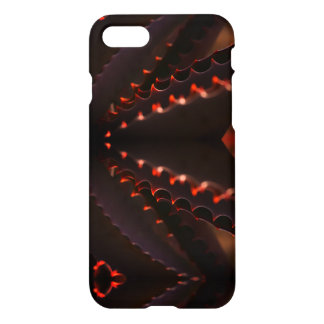 Glowing Red Aloe Plant IPhone 8/7 Phone Case