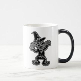Glowing Skeleton Morphing Mug