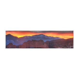 Glowing Sky Gallery Wrapped Canvas