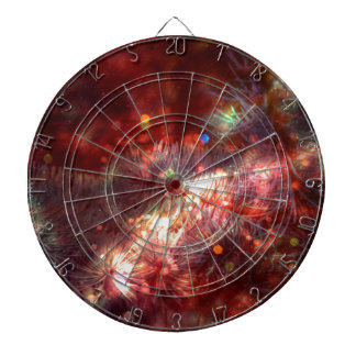 Glowing Spruce Branches Dartboard