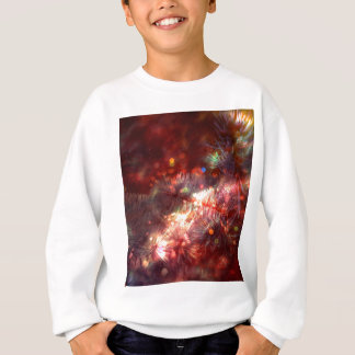 Glowing Spruce Branches Sweatshirt