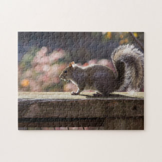 Glowing Squirrel Jigsaw Puzzle