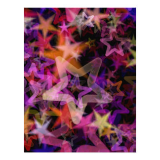 Glowing Stars In Night Light Personalized Flyer