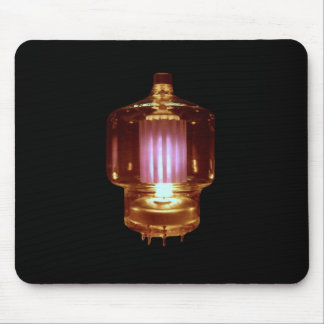 Glowing Transmit Vacuum Tube Mouse Pad