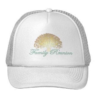 Glowing Tree Family Reunion Cap Trucker Hat