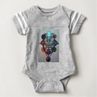 Glowing Tree of Life Baby Bodysuit